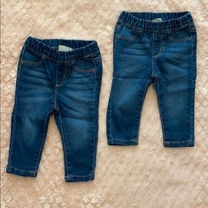 Crazy 8 Jeggings Size 6-12 Months.